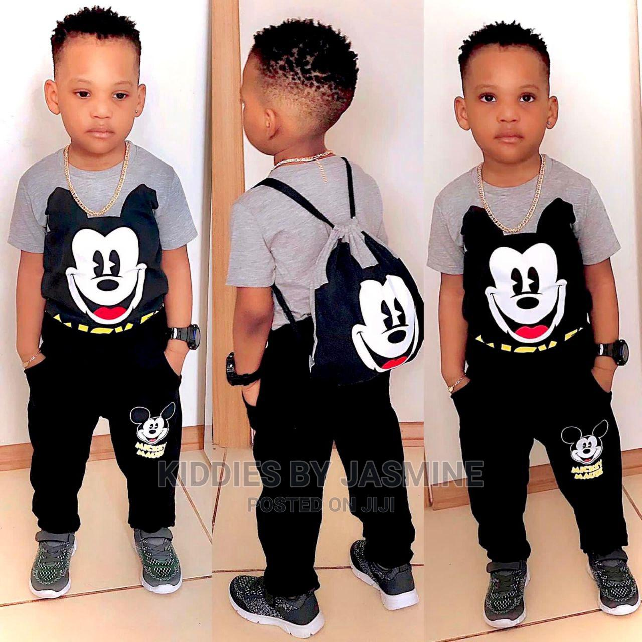 Boy Mickey Set- Top Trouser and Bag
