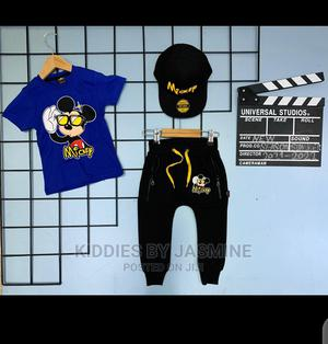 Boy Mickey Set With Cap | Children's Clothing for sale in Lagos State, Alimosho