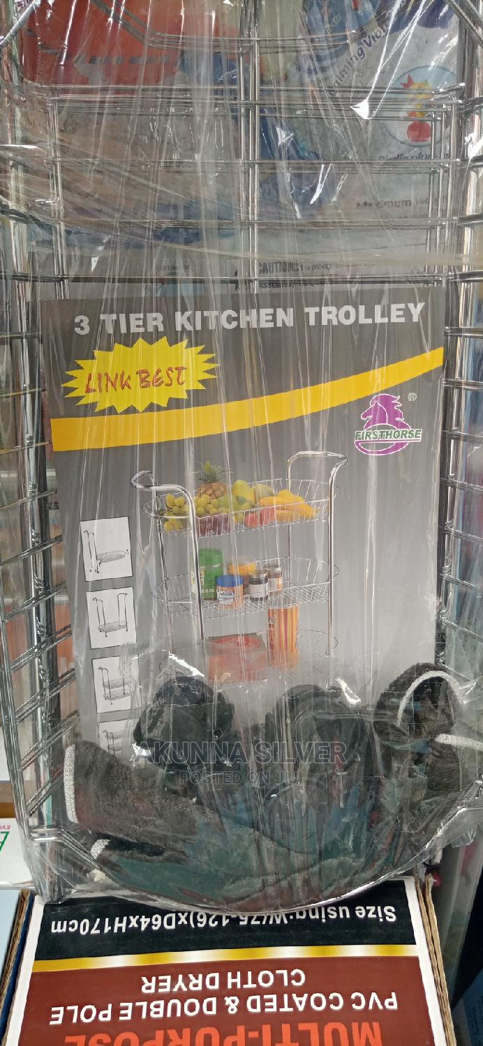 Quality 3 Tier Universal Trolley
