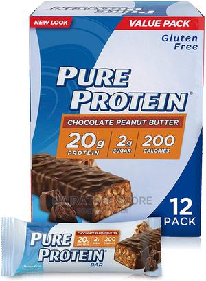 Pure Protein Bars Chocolate Peanut Butter Snacks (12 Pack)   Meals & Drinks for sale in Lagos State, Lekki