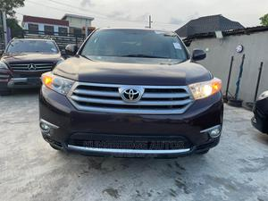 Toyota Highlander 2013 Plus 3.5L 4WD Brown   Cars for sale in Lagos State, Ogba