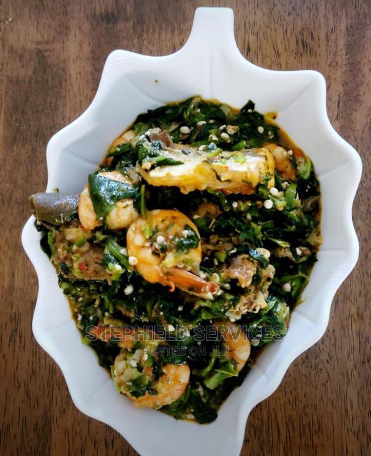 Vegetable Soup (Okro Bowl)