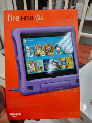 New Amazon Fire HD 8 (2020) 32 GB Pink | Tablets for sale in Lagos State, Ikeja