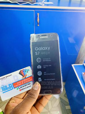 New Samsung Galaxy S7 edge 64 GB Blue   Mobile Phones for sale in Imo State, Owerri