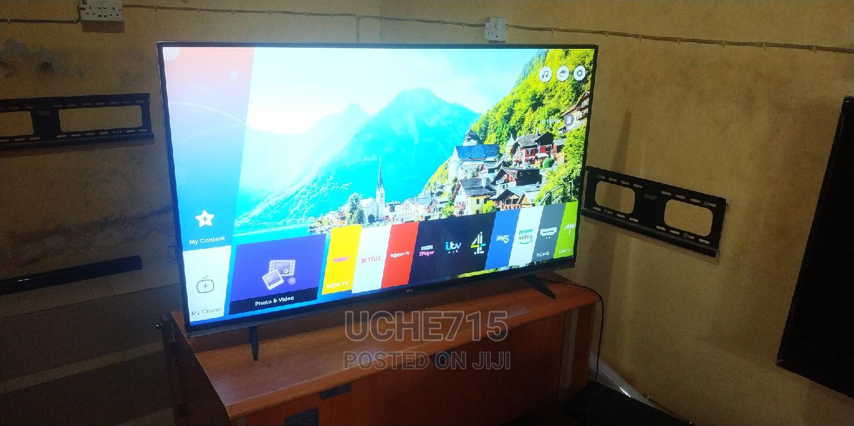 LG 55inchs Smart UHD 4K HDR 10 Wi-Fi Webos Bluetooth LED TV
