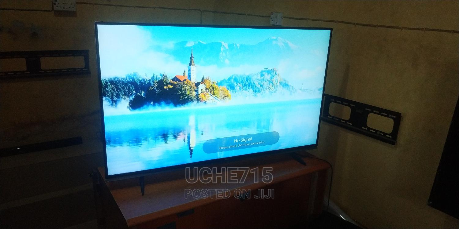 LG 55inchs Smart UHD 4K HDR 10 Wi-Fi Webos Bluetooth LED TV | TV & DVD Equipment for sale in Ojo, Lagos State, Nigeria