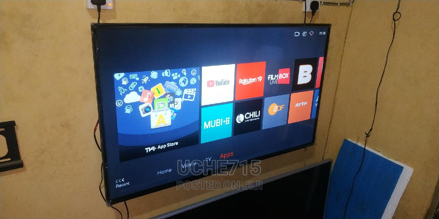 2019 TCL 55inchs Smart Hub UHD 4K Wifi HDR Bluetooth LED TV | TV & DVD Equipment for sale in Ojo, Lagos State, Nigeria