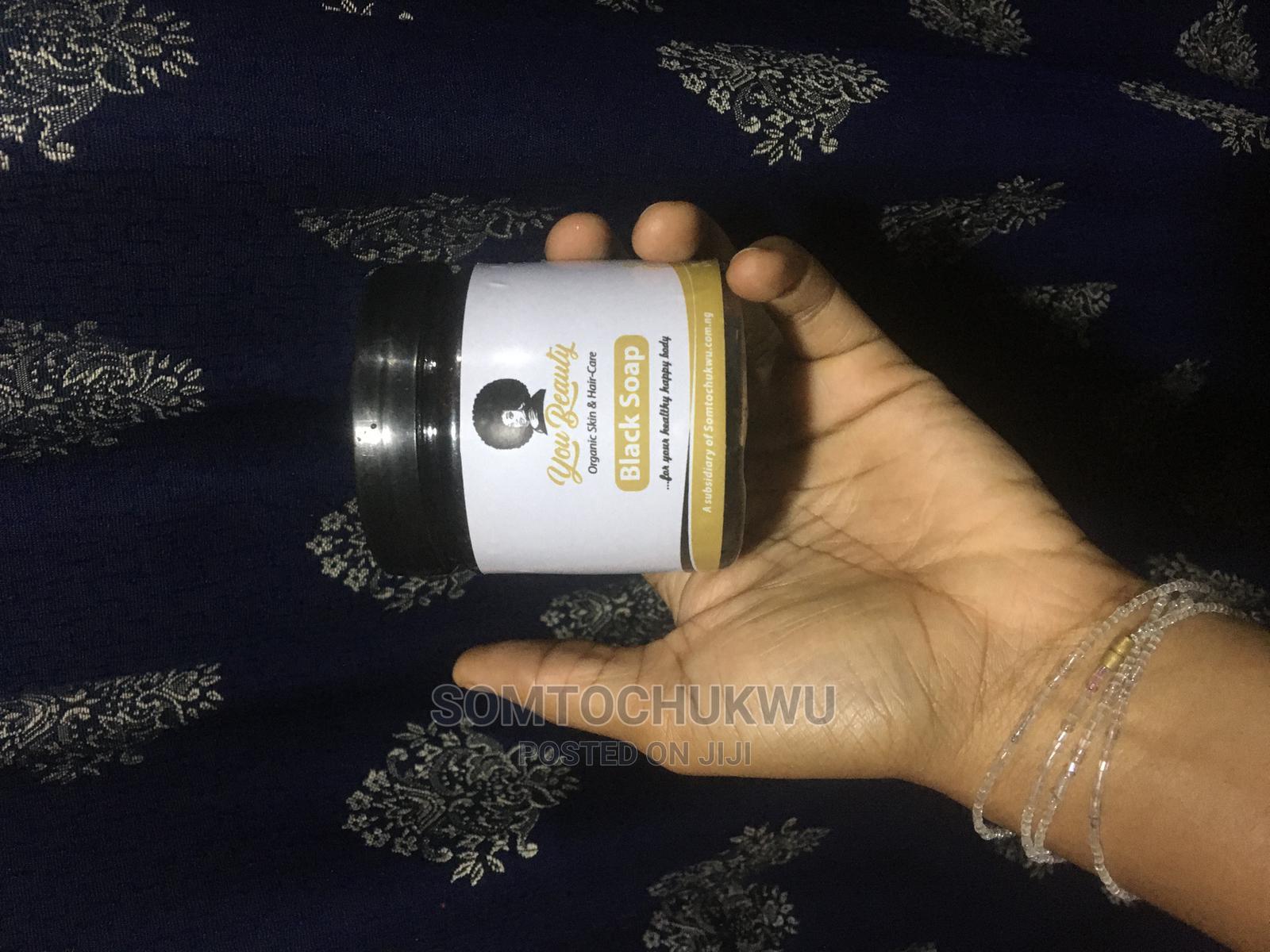 African 100% Organic Black Soap for Skin - Youbeauty Organic