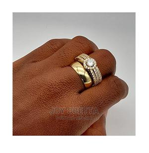 Rommanel Gold Set of Wedding Ring | Wedding Wear & Accessories for sale in Lagos State, Lagos Island (Eko)