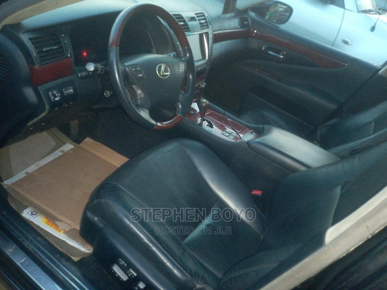 Archive: Lexus LS 2009 Black
