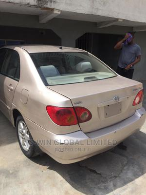 Toyota Corolla 2003 Gold   Cars for sale in Lagos State, Surulere
