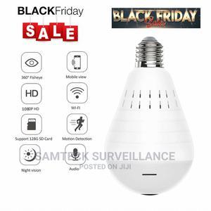 Spy Wifi Bulb Camera | Security & Surveillance for sale in Lagos State, Ojodu
