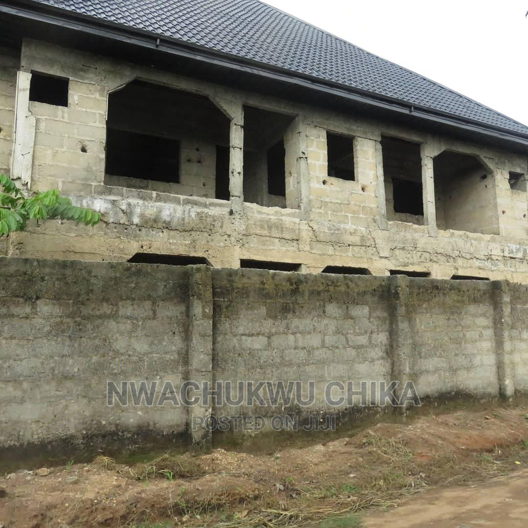 Archive: A Storey Building With 80% Completion