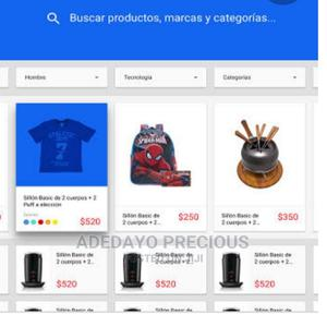 E Commerce Website Design | Computer & IT Services for sale in Oyo State, Oluyole