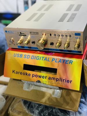 BT-9100 Hifi Stereo Audio Karaoke System Power Amplifier | Audio & Music Equipment for sale in Lagos State, Ojo