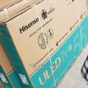 Hisense 55'' Inch Smart Uhd 4K +Bluetooth and Wall Bracket   TV & DVD Equipment for sale in Lagos State, Ojo