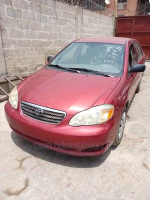 Toyota Corolla 2007 CE Red   Cars for sale in Lagos State, Victoria Island