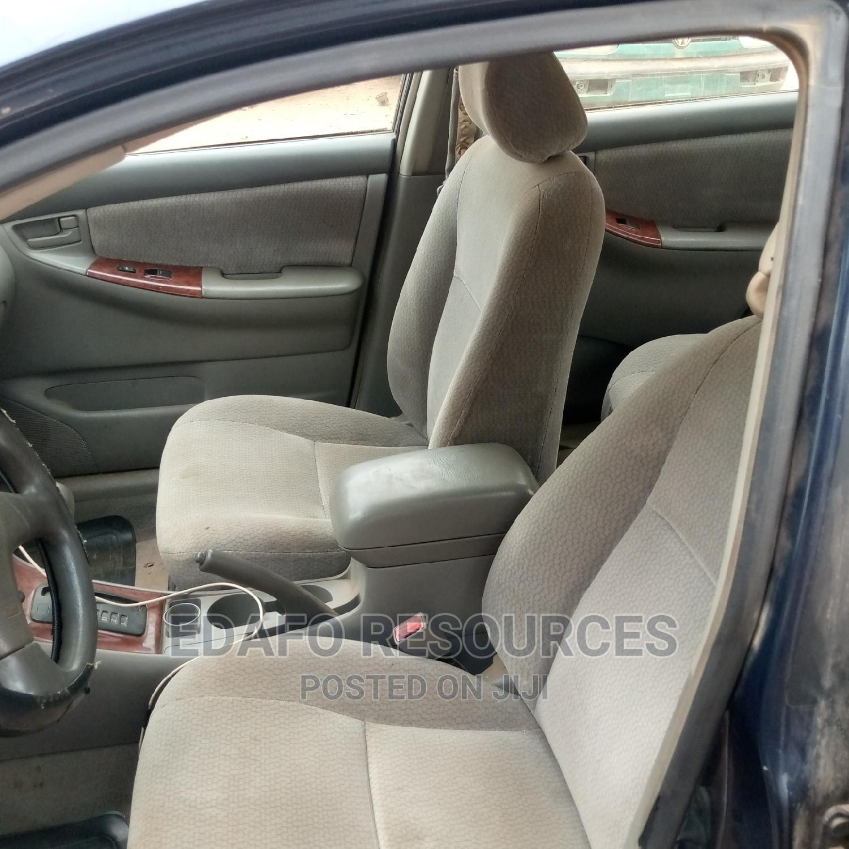 Archive: Toyota Corolla 2003 Sedan Blue