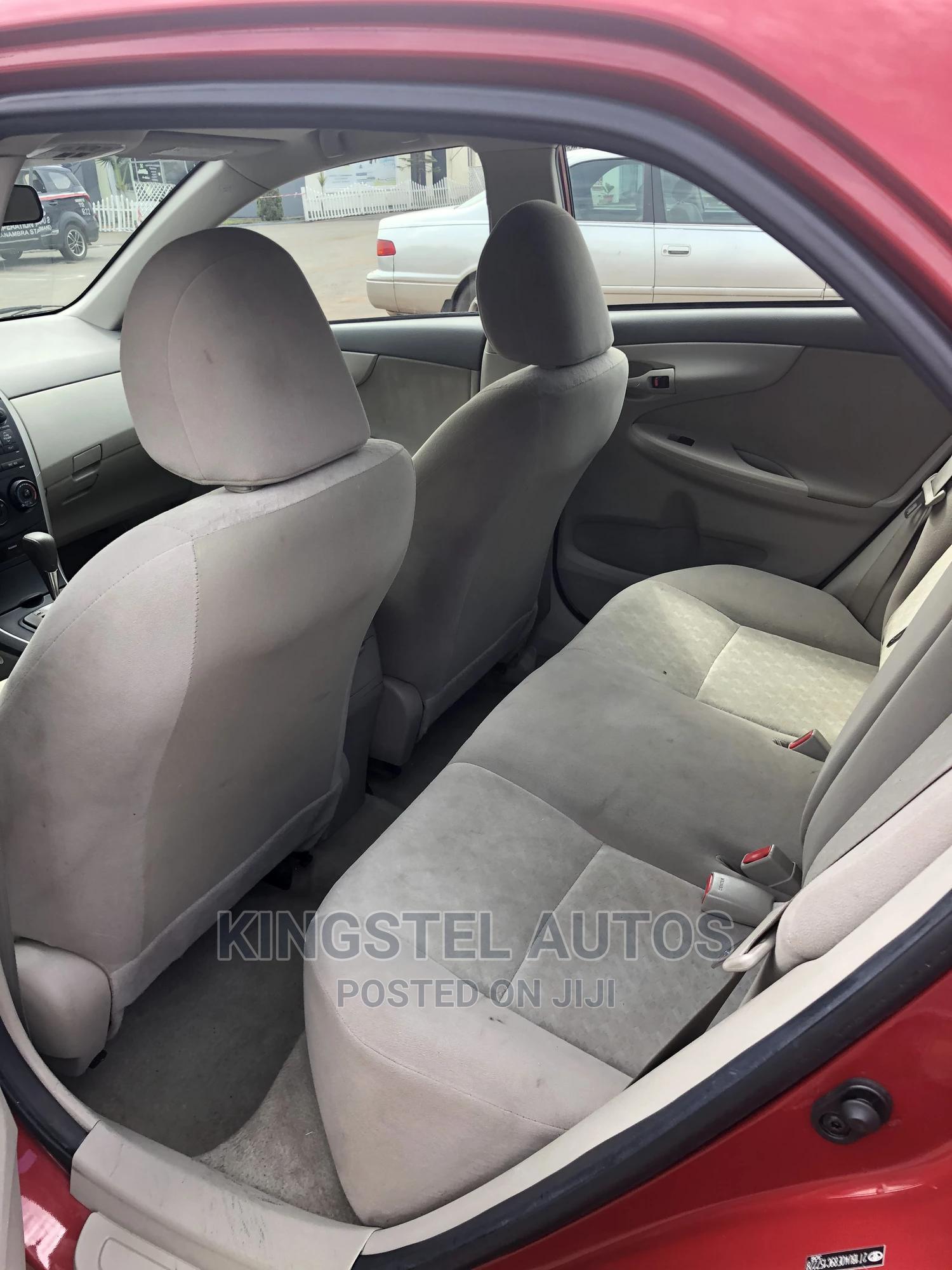 Toyota Corolla 2009 Red | Cars for sale in Jabi, Abuja (FCT) State, Nigeria