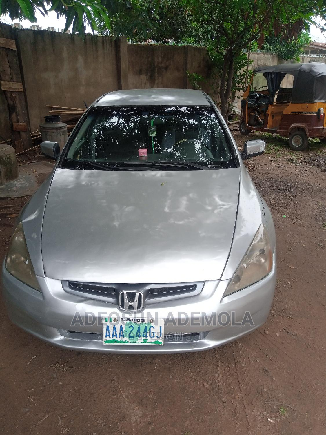 Honda Accord 2004 2.4 Type S Automatic Silver
