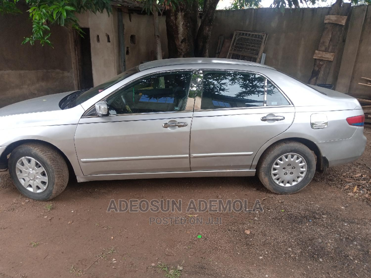 Honda Accord 2004 2.4 Type S Automatic Silver | Cars for sale in Ibadan, Oyo State, Nigeria