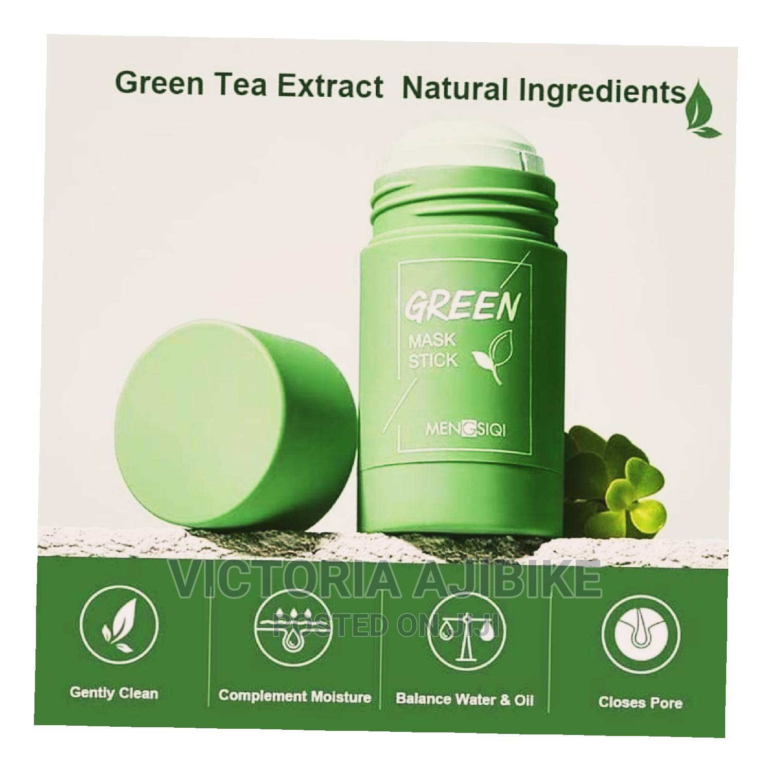 100% Green Tea Mask Stick. Very Effective and Selling Fast