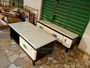 One Marble TV Stand and Center Table   Furniture for sale in Lagos State, Oshodi