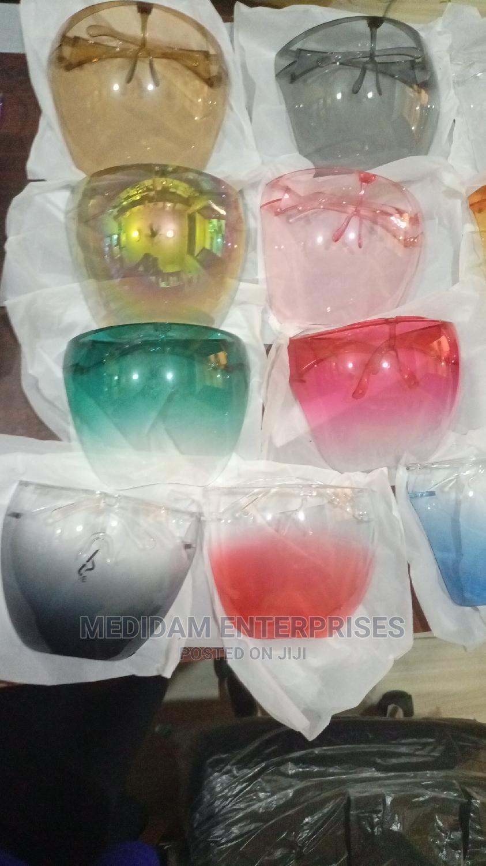 Bubble Face Shield Colours