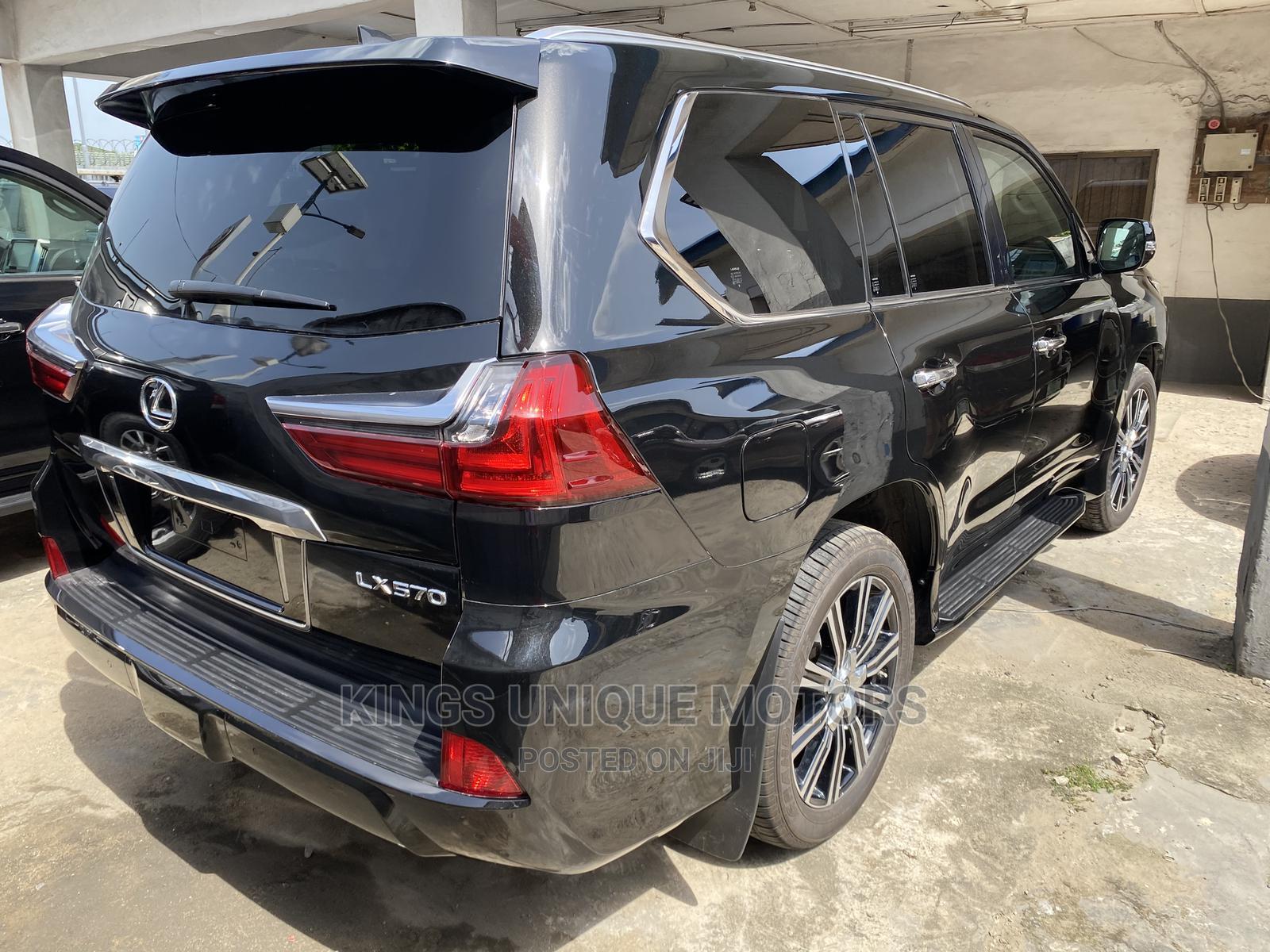 New Lexus LX 2020 570 Three-Row Black   Cars for sale in Ikeja, Lagos State, Nigeria