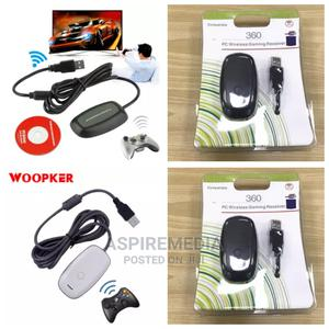 Xbox 360 Controller PC Windows Wireless Receiver | Video Game Consoles for sale in Lagos State, Ikeja