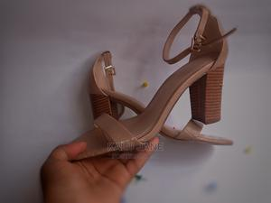 Nude Block Heels | Shoes for sale in Lagos State, Lagos Island (Eko)