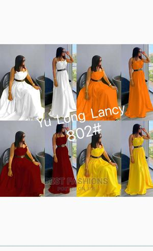 Simple Sleeveless Long Flay Gown | Clothing for sale in Lagos State, Ikeja