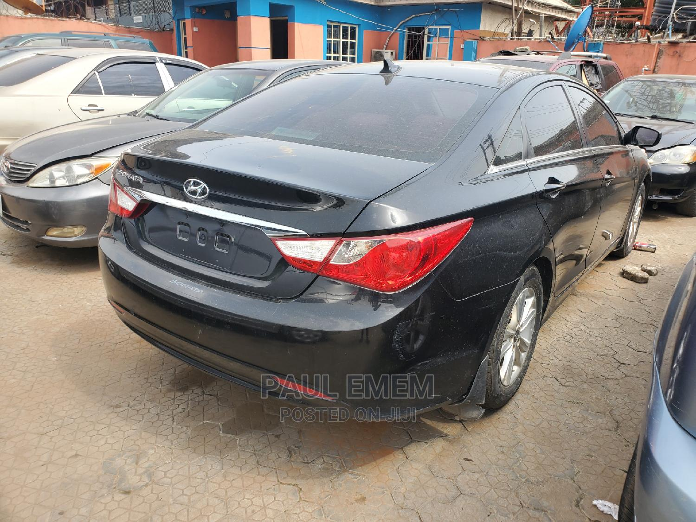 Hyundai Sonata 2012 Black   Cars for sale in Ikeja, Lagos State, Nigeria