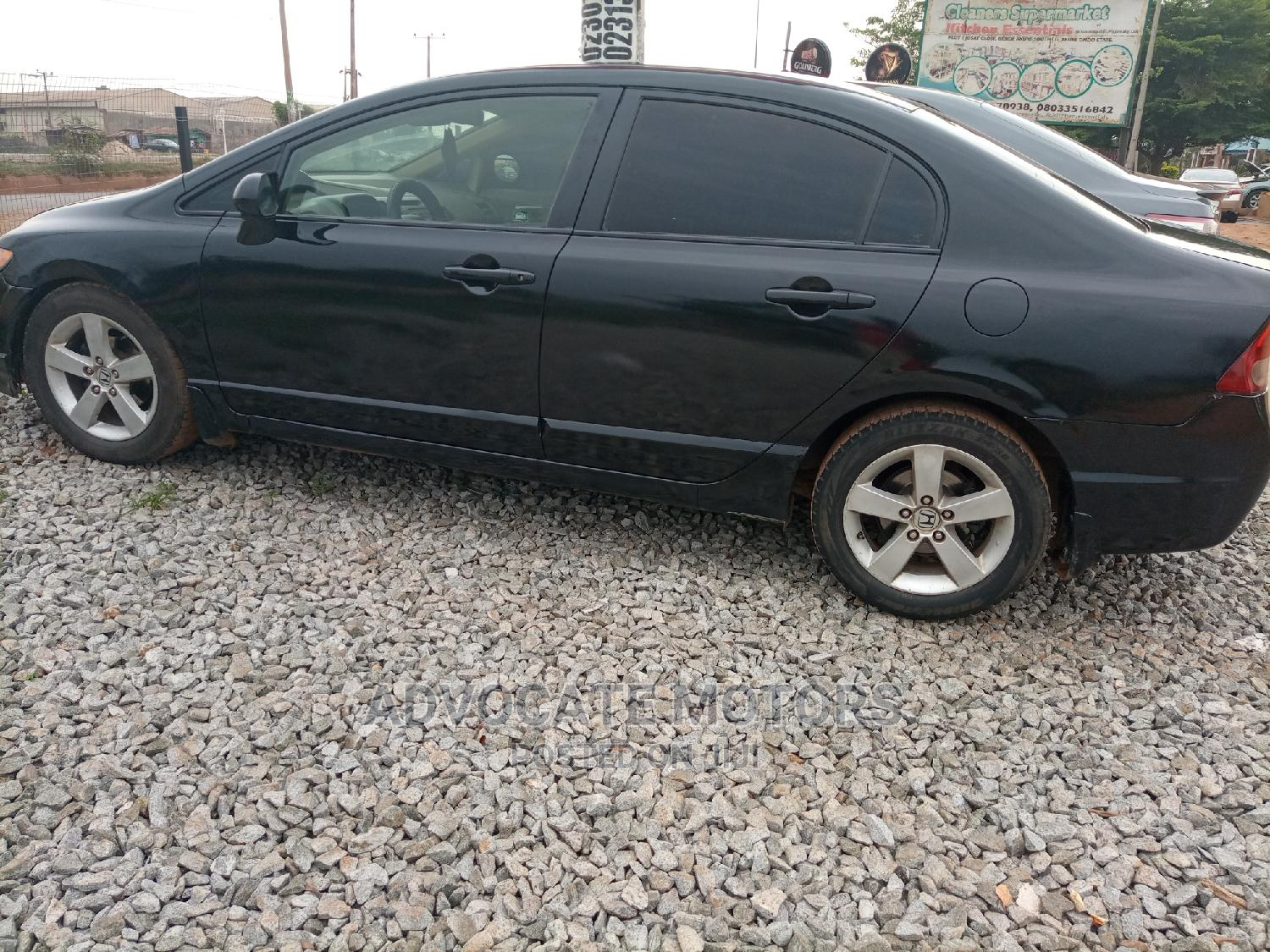 Archive: Honda Civic 2007 1.8 Sedan EX Black