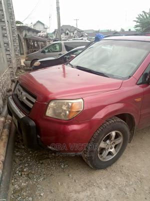 Honda Pilot 2006 EX 4x4 (3.5L 6cyl 5A) Red | Cars for sale in Delta State, Warri