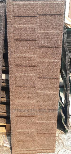 Original Newzealand Stone Coated Sheets (Brown Shingle) | Building Materials for sale in Lagos State, Egbe Idimu