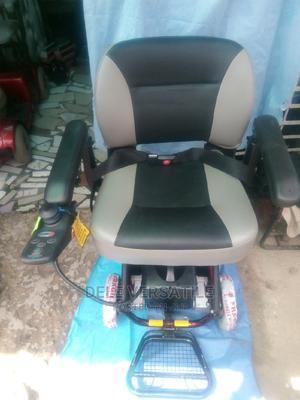 Super Light Tubular Folding Power Wheelchair   Medical Supplies & Equipment for sale in Lagos State, Mushin