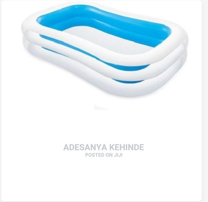 Intex Inflatable Swimming Pool 2.62m X 1.75m X 56cm