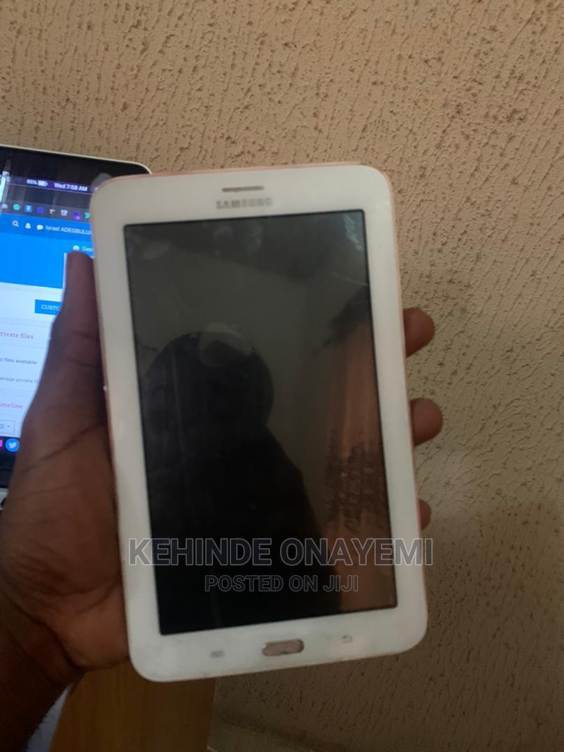 Samsung Galaxy Tab a 7.0 8 GB White | Tablets for sale in Ibadan, Oyo State, Nigeria