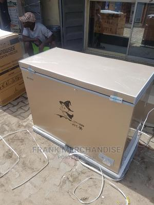 Snowsea Chest Freezer 370litters With Glass 100%Copper   Kitchen Appliances for sale in Lagos State, Ojo