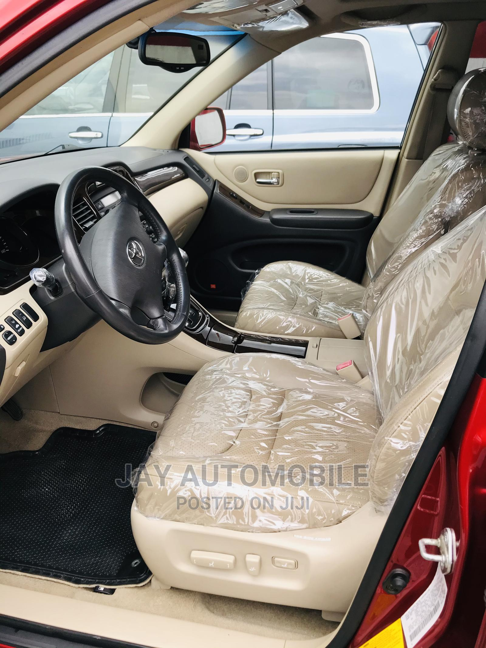 Toyota Highlander 2003 Red | Cars for sale in Port-Harcourt, Rivers State, Nigeria