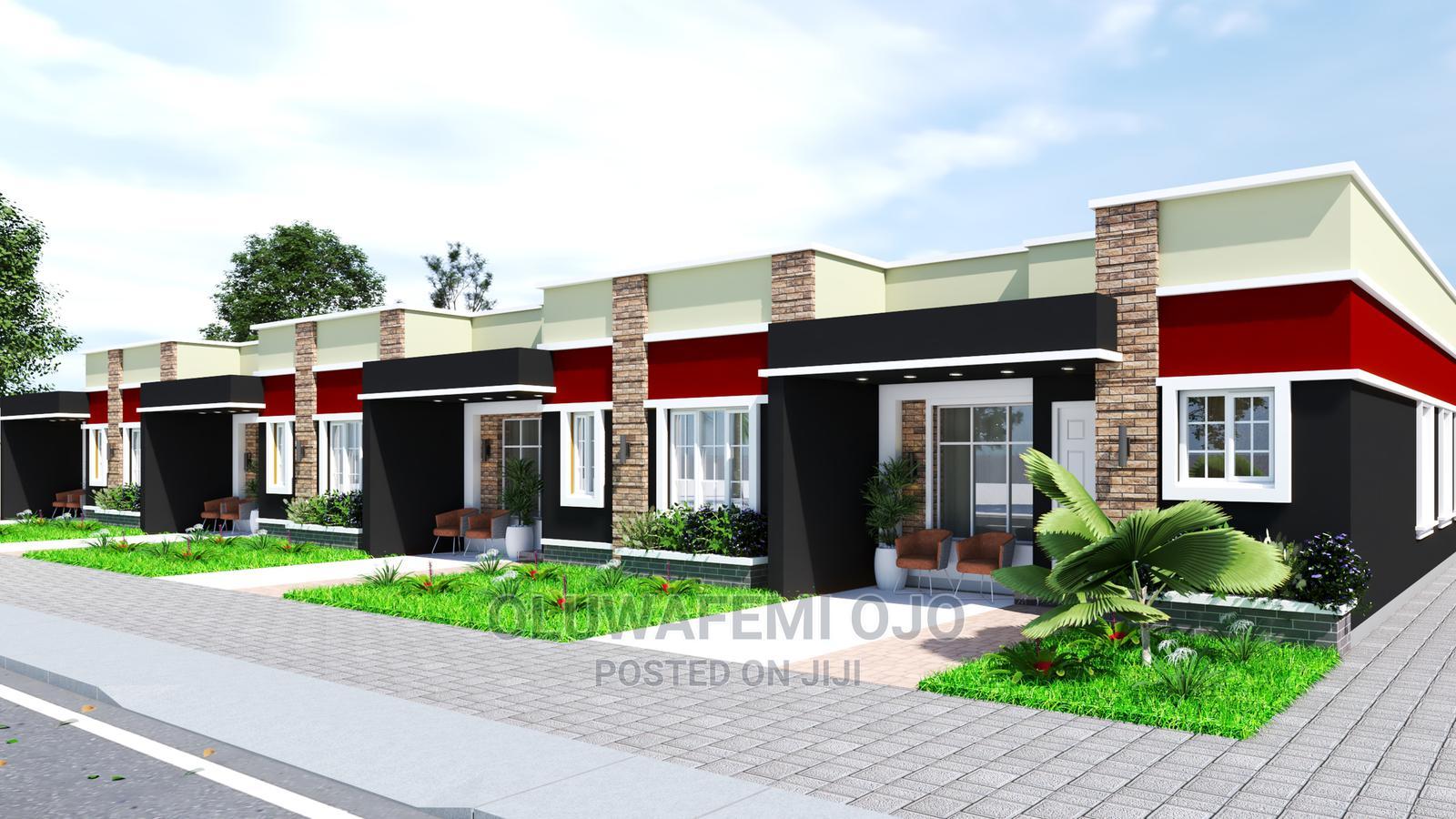 Beautiful One Bedroom Terrace Bungalow, Mowe, Ogun State