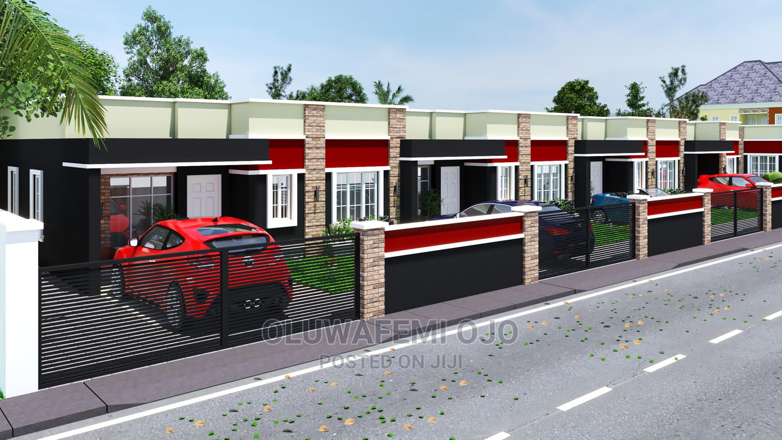 Beautiful One Bedroom Terrace Bungalow, Mowe, Ogun State   Houses & Apartments For Sale for sale in Obafemi-Owode, Ogun State, Nigeria