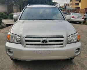 Toyota Highlander 2007 V6 4x4 Silver   Cars for sale in Lagos State, Ikeja