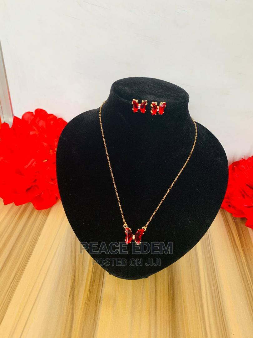 Archive: Butterfly  Necklace Set