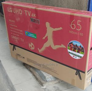 "LG 65""Inch Smart Ultra High Definition 4K TV Netflix+ Mount | TV & DVD Equipment for sale in Lagos State, Ojo"