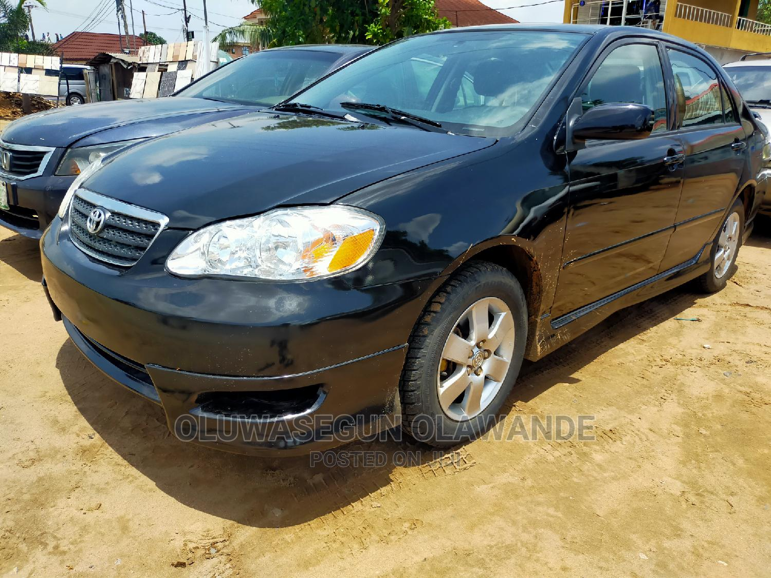 Toyota Corolla 2007 S Black | Cars for sale in Ifako-Ijaiye, Lagos State, Nigeria