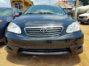 Toyota Corolla 2007 S Black | Cars for sale in Lagos State, Ifako-Ijaiye