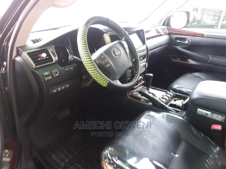 Archive: Lexus LX 2014 570 Base Black