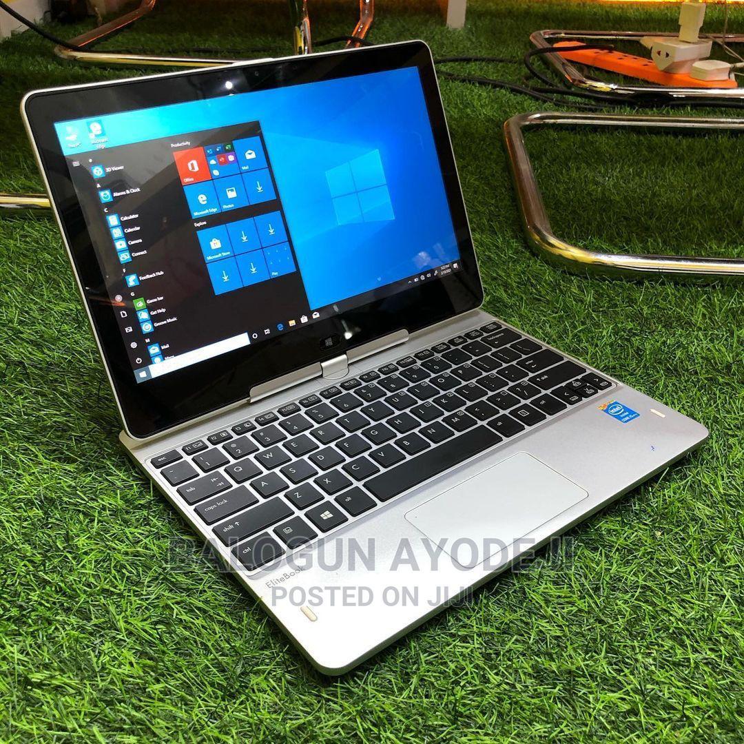 Laptop HP EliteBook Revolve 810 G2 Tablet 8GB Intel Core I5 SSD 256GB   Laptops & Computers for sale in Ikeja, Lagos State, Nigeria